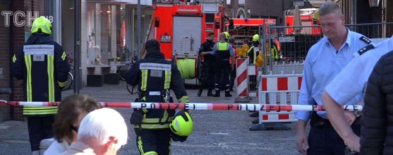Водій, який в'їхав у натовп у Німеччині, мав психічні розлади - ЗМІ