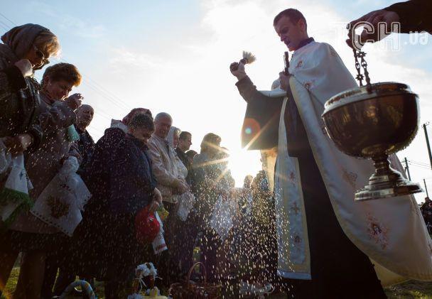 Уночі великодню службу відвідало майже 7 мільйонів українців