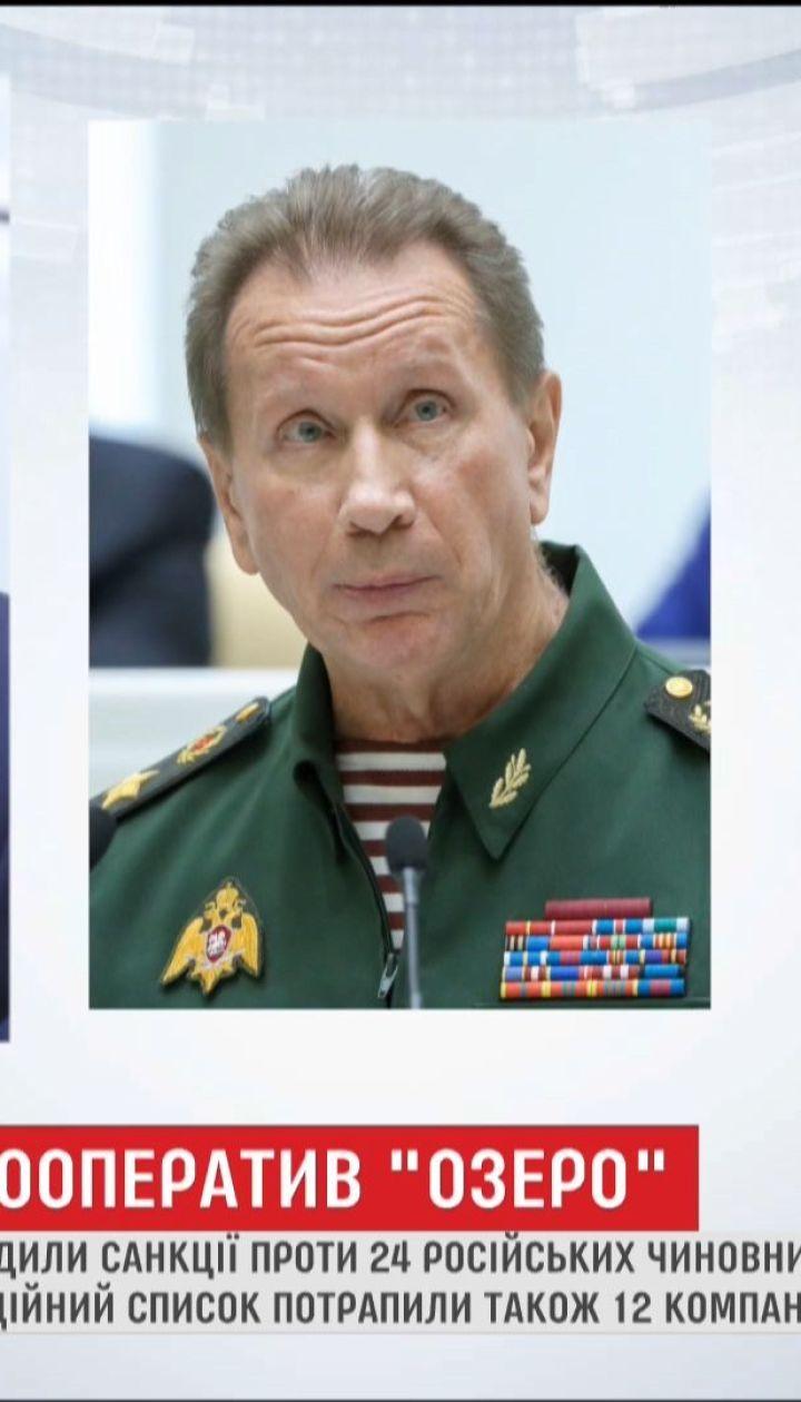 США ввели санкції проти 24 наближених до Путіна олігархів та 12 компаній
