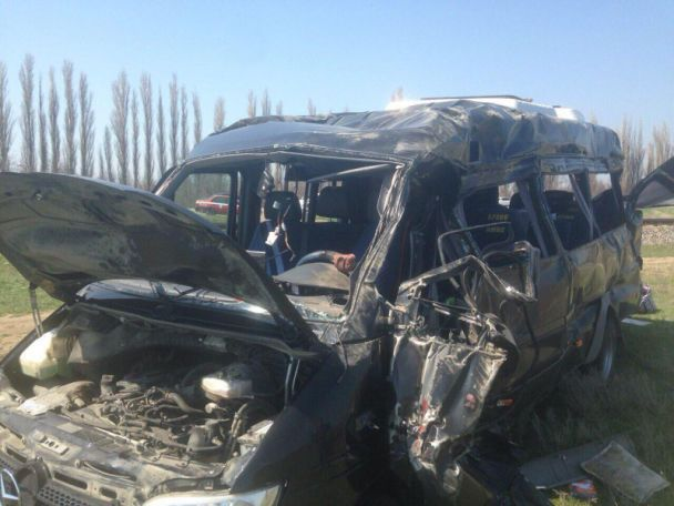 В смертельном ДТП с маршруткой и электричкой в Крыму пострадали два гражданина Украины