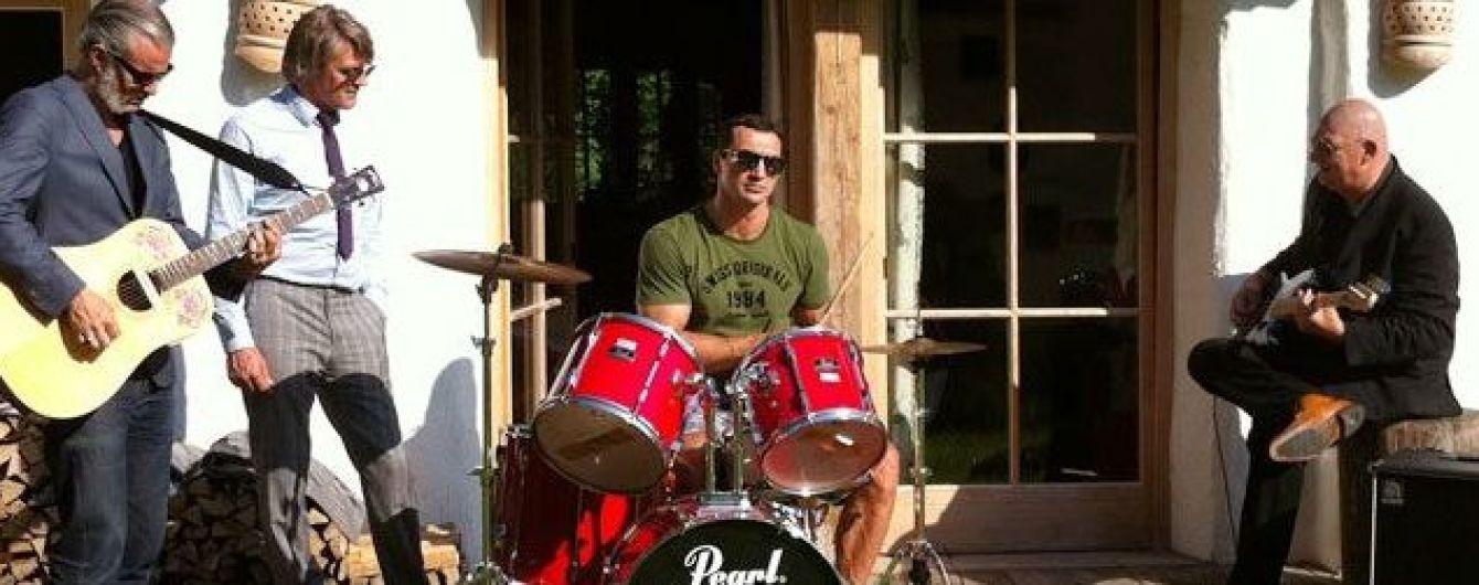 Володимир Кличко стане барабанщиком українського рок-гурту