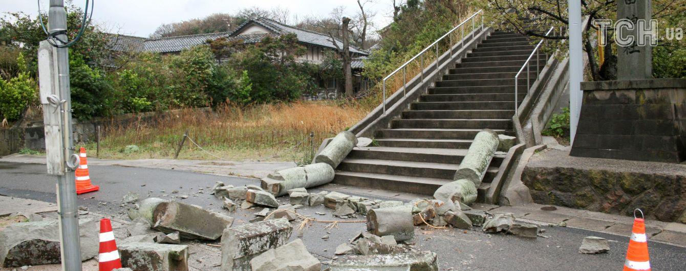 Японию сотрясло сильное землетрясение