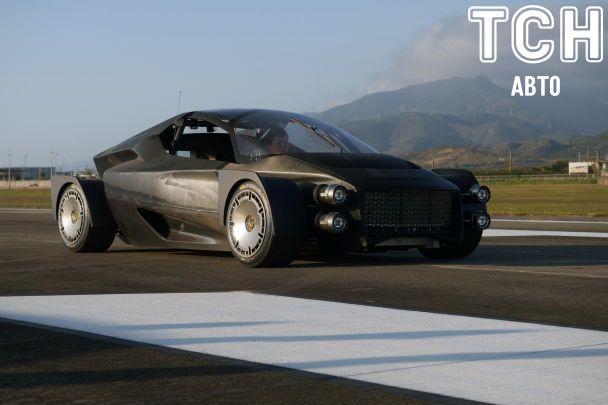 """На тесты выехал """"убийца"""" Tesla Roadster"""