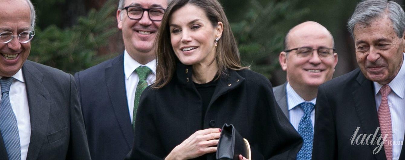 Бывает и такой: королева Летиция появилась на публике в скромном наряде