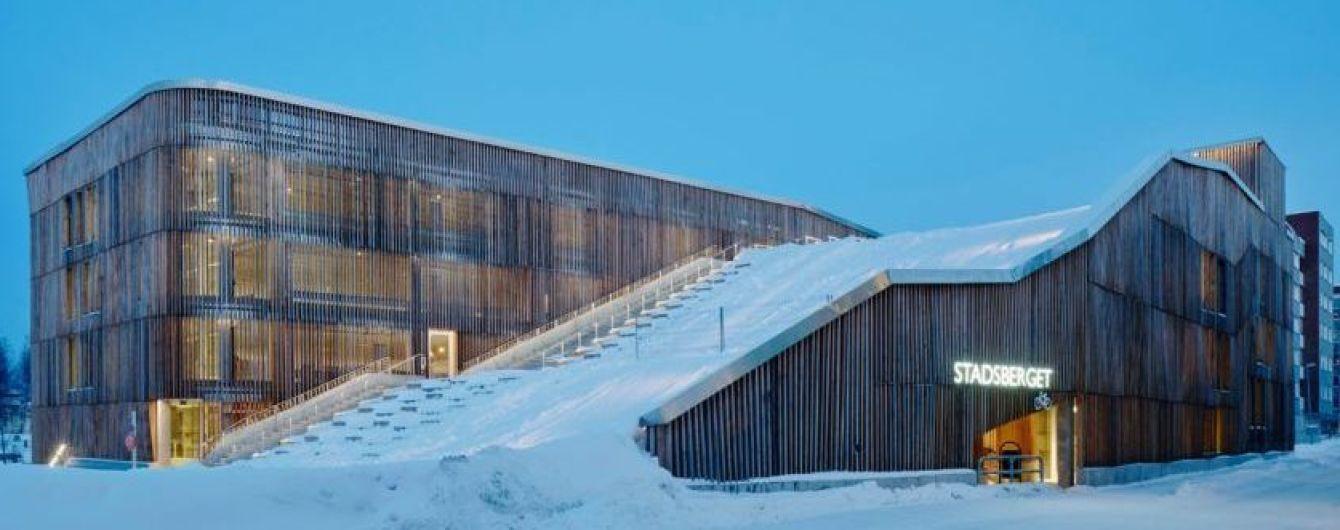 В Швеции построили революционный паркинг, ломающий стереотипы об автостоянках