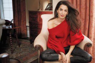 Жена Джорджа Клуни впервые снялась для глянца и рассказала о своей жизни