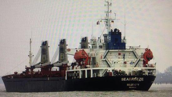 Український суд заарештував судно-земснаряд, яке видобуває пісок для будівництва моста біля Керчі