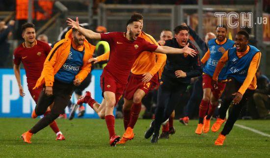 """Камбек року. """"Рома"""" поклала на лопатки """"Барселону"""" та вийшла до 1/2 фіналу Ліги чемпіонів"""