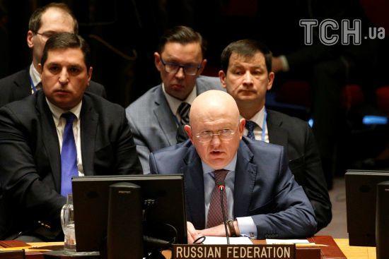 Росія у Радбезі ООН заблокувала американську резолюцію щодо хімічної атаки у Сирії