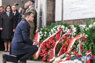 У Варшаві з'явився пам'ятник жертвам Смоленської катастрофи