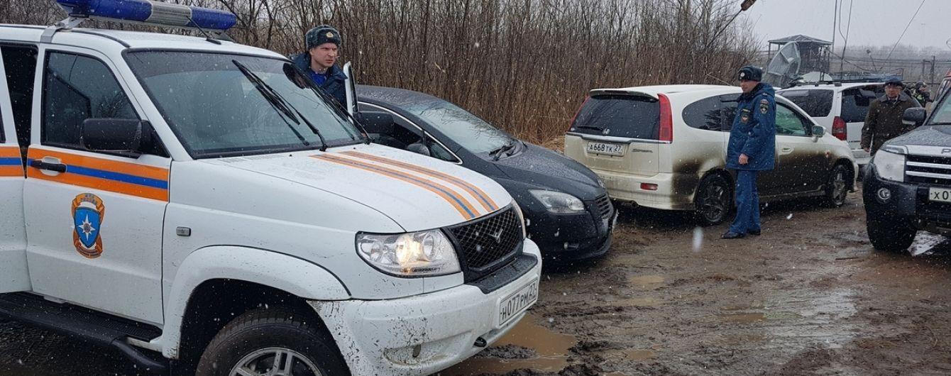 Очевидцы сообщили, что вертолет в Хабаровске разбился из-за вышки. Опубликовано видео