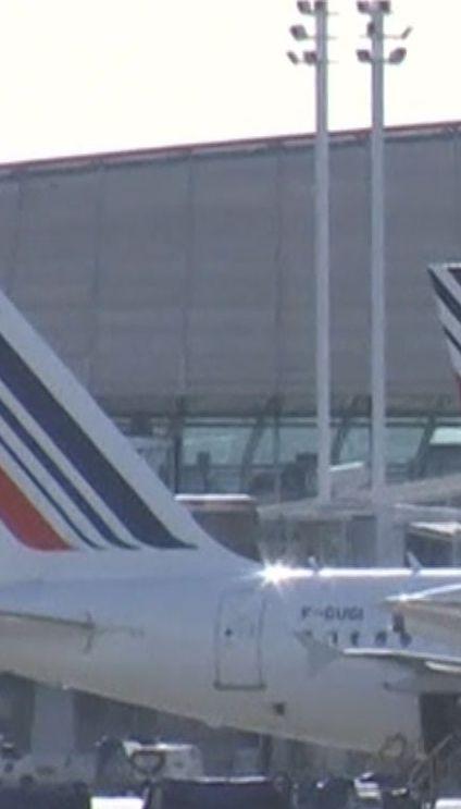 Air France бастует. Рейс из Парижа в Киев отменили