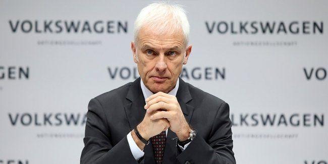 Volkswagen, руководство, Маттиас Мюллер