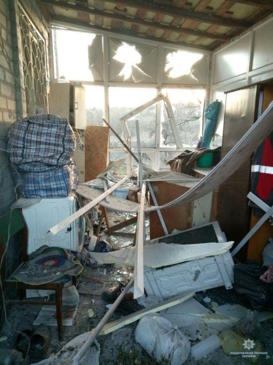 Бойовики вночі накрили вогнем будинки в старій Авдіївці, поліція кваліфікувала обстріл як теракт