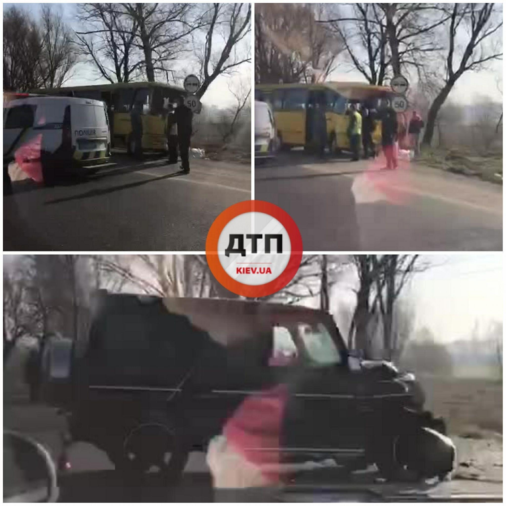 """аварія маршрутки і """"кубика"""" на одеській трасі_1"""