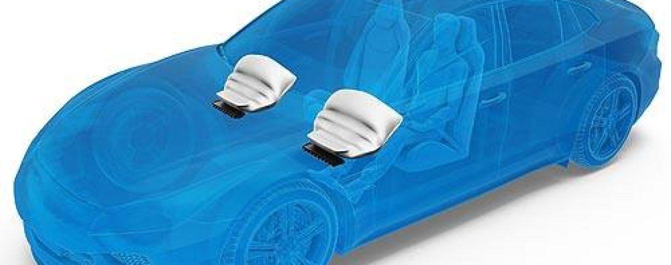 Известный немецкий производитель ZF разработал инновационную подушку безопасности для колен
