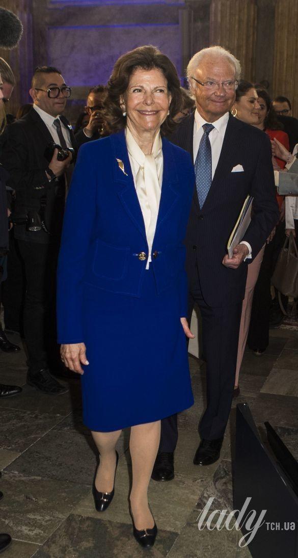 Королева Сильвия и король Карл Густав_1