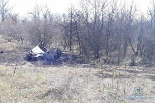 На Луганщині на лінії розмежування четверо місцевих мешканців підірвалися в автомобілі