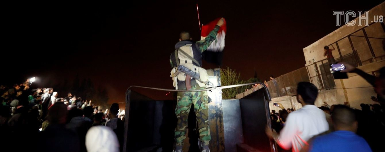В России заявили, что войска Асада установили контроль над Думой