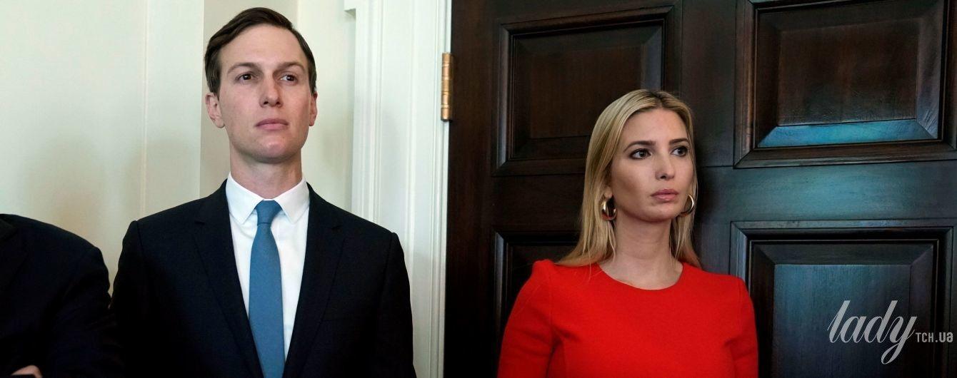 Иванка Трамп подчеркнула стройную фигуру алым платьем