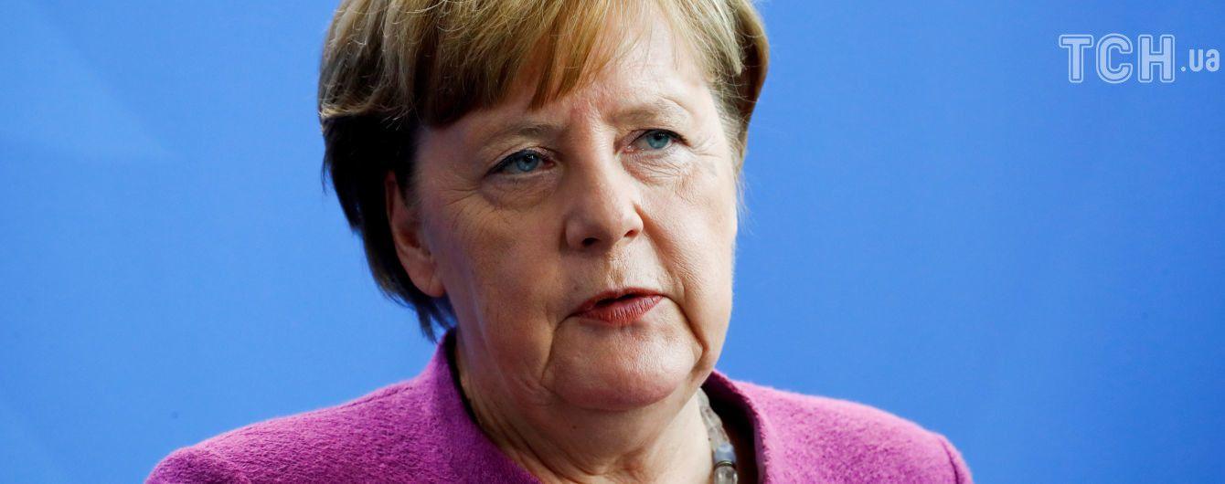 Меркель: Німеччина небратиме участь у можливих бойових діях в Сирії