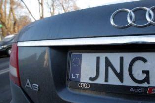 В Україні викрадають і перепродають автомобілі на єврономерах