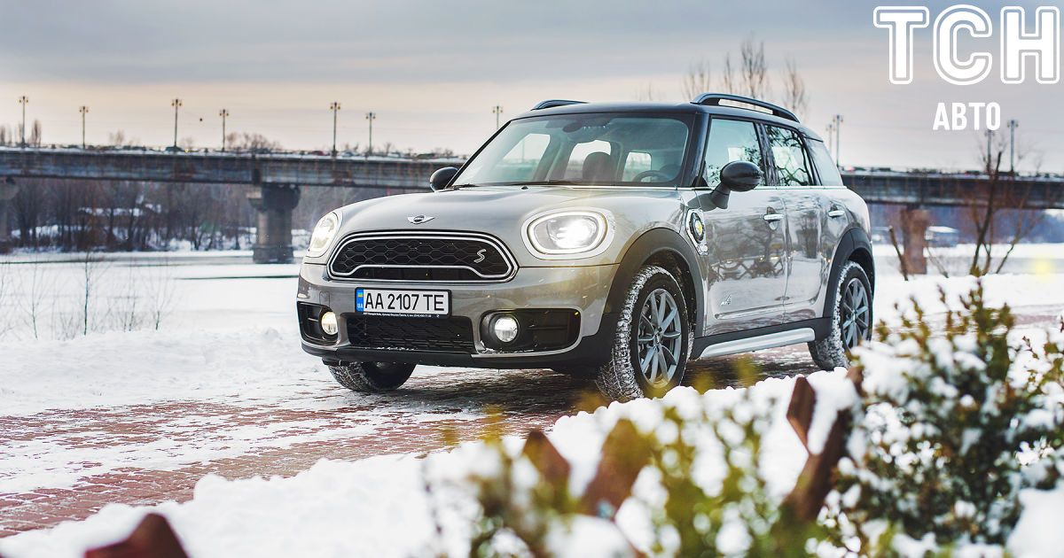 Гибридный Mini Cooper SE Countryman ALL4: стиль или экономия?