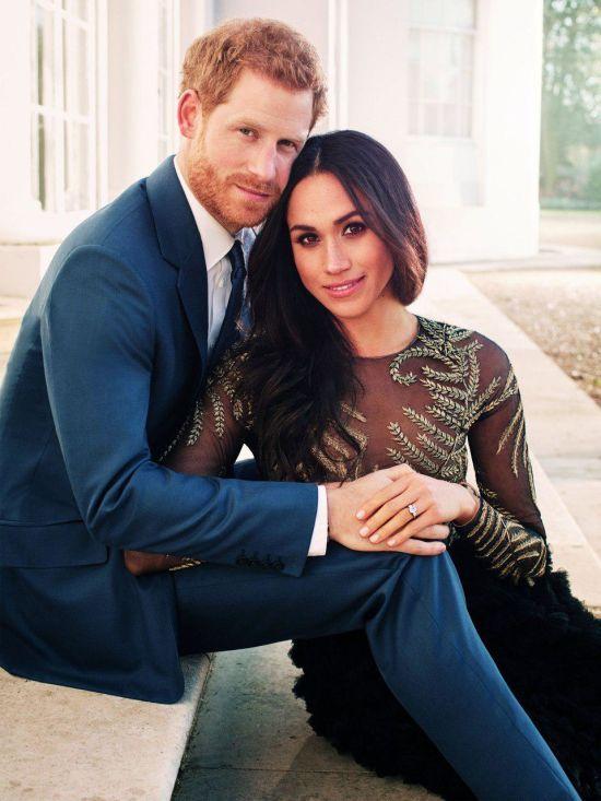 Принц Гаррі та Меган Маркл обрали фотографом на своє весілля автора їхніх світлин з заручин