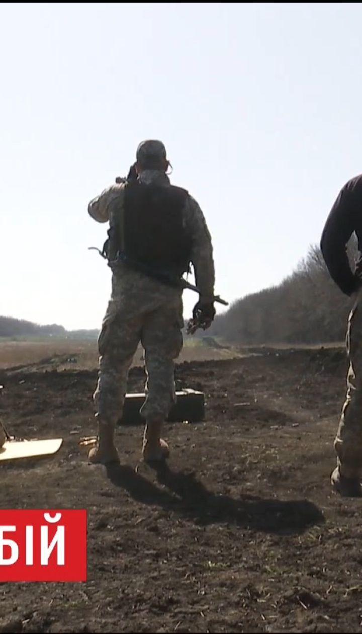 13 квітня 2014 року відбулися перші постріли у бік російських окупантів на Донбасі