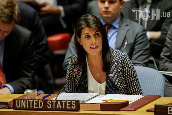Конфлікт в Секторі Гази: постпред США покинула зал Радбезу ООН перед виступом посла Палестини