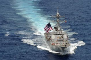 Американський есмінець приєднався до ударної групи кораблів США у Середземному морі
