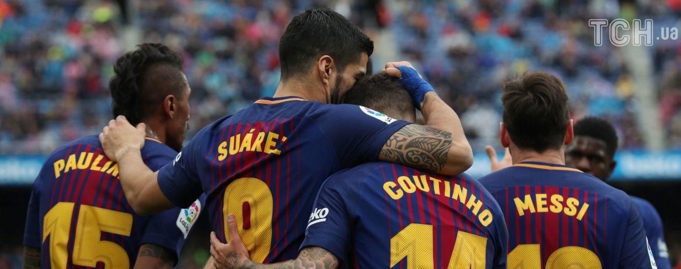 """""""Барселона"""" після фіаско у Лізі чемпіонів реабілітувалася перемогою над """"Валенсією"""""""