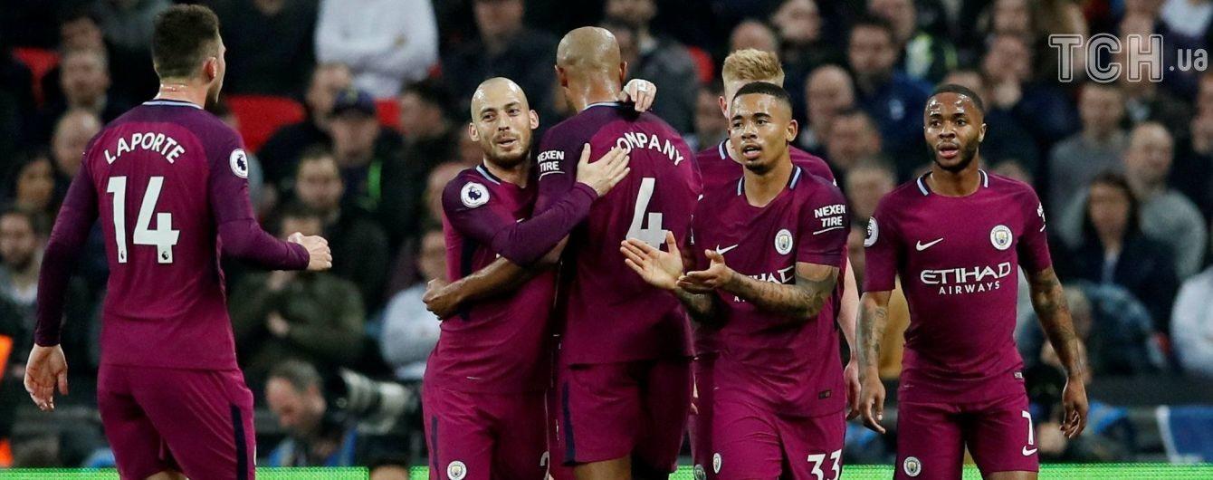 """""""Манчестер Сити"""" уверенно одолел """"Тоттенхэм"""" и еще на шаг приблизился к чемпионству"""