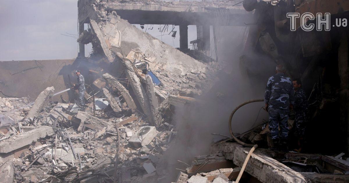 Разрушенный авиаударами научный центр в Сирии разрабатывал лекарство о