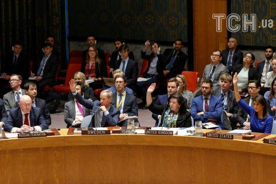 США, Британія та Франція внесли до Радбезу ООН свій проект резолюції щодо Сирії