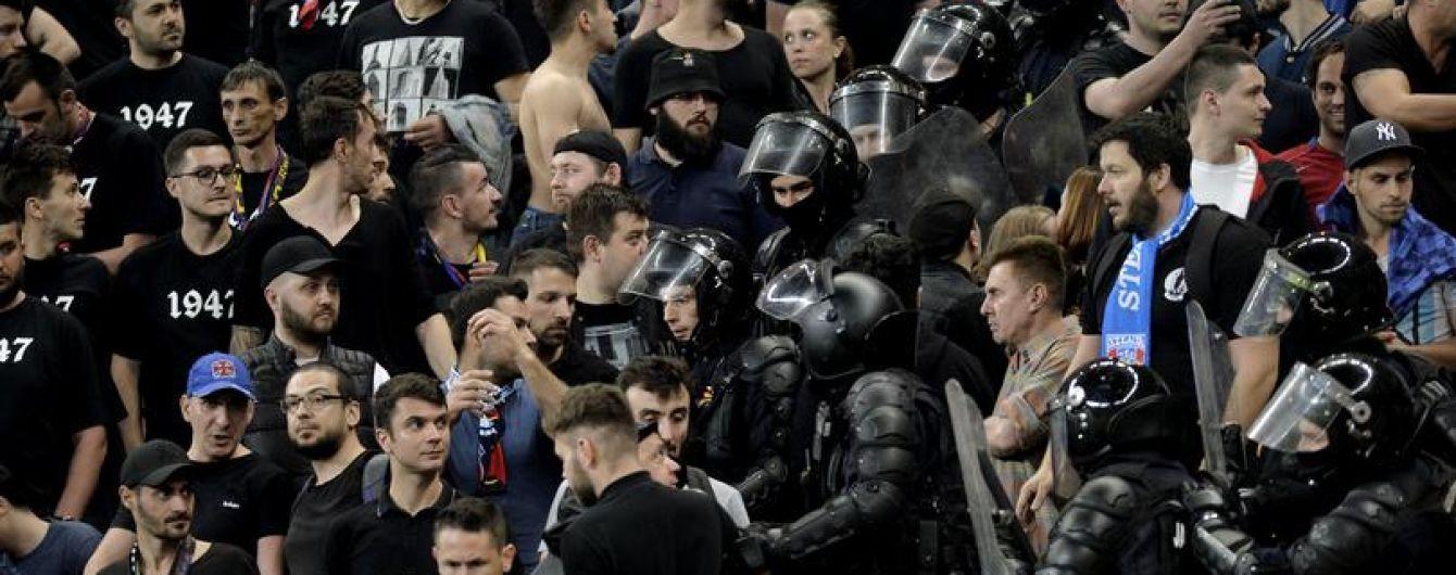 В Румынии задержали более 50 человек из-за массовой драки во время матча