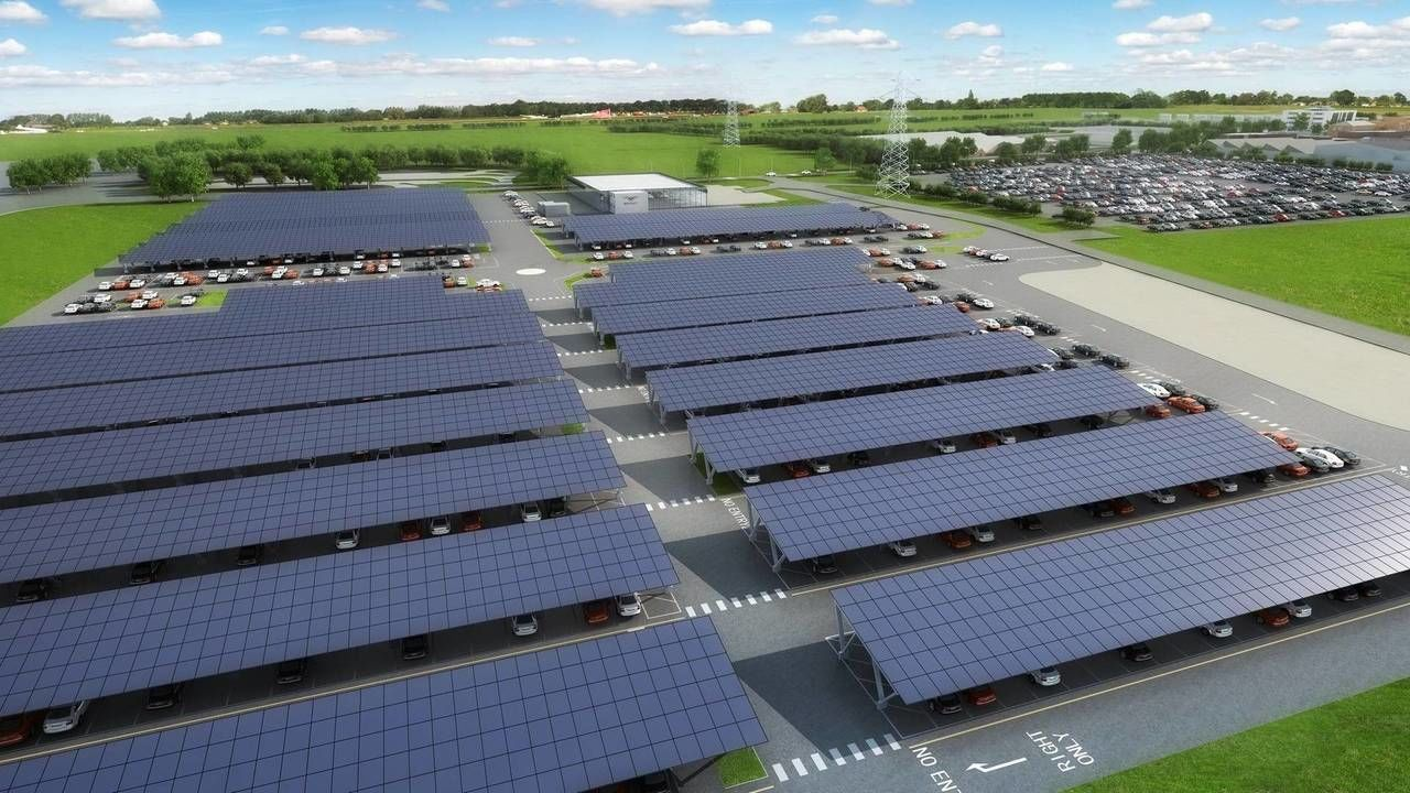 Bentley, завод, солнечные батареи, сонячні панелі