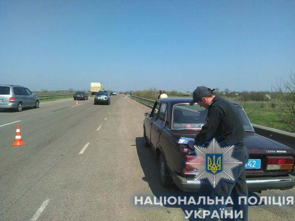 На Одесчине женщина-водитель разбила легковушку об отбойник, погиб ребенок