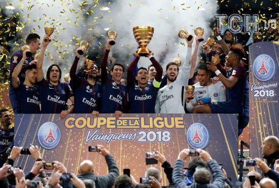 """ПСЖ знищив """"Монако"""" і усьоме став чемпіоном Франції"""