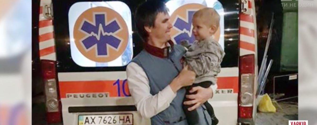 У Харкові перехожий врятував дитину та дідуся з пожежі