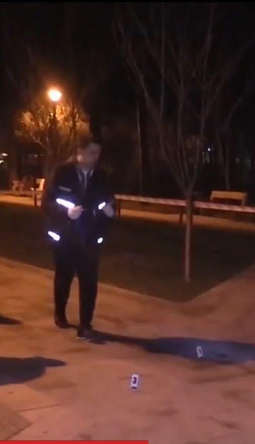 У столиці в парку Кіото чоловік під час бійки кинув у людей гранату