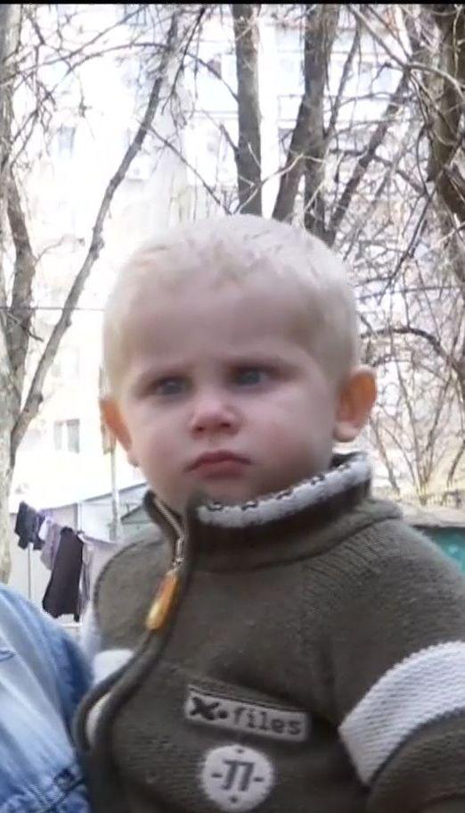Подробиці порятунку маленького хлопчика із пожежі у Харкові