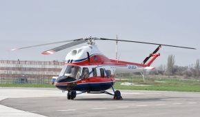 """У Запоріжжі випробували перший український вертоліт """"Надія"""""""