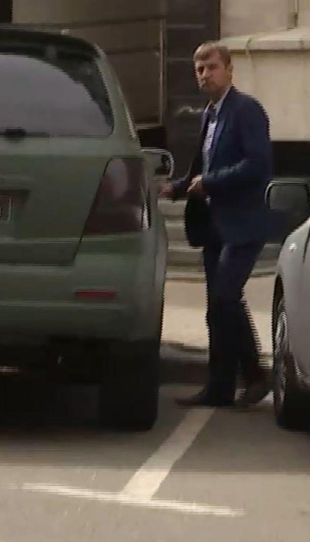 Гаврилюк тікав від запитань про авто, на якому їздить