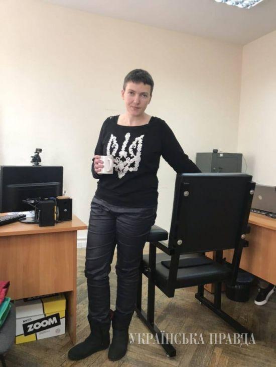 ЗМІ опублікували фото Савченко після голодування