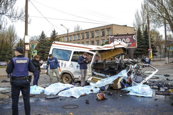 Семеро із восьми загиблих у ДТП у Кривому Розі – працівники меткомбінату. Список жертв