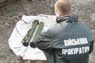 На Черниговщине задержали военного, который торговал гранатометами из зоны АТО