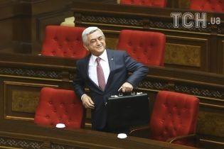 Премьер-министр Армении Саргсян подал в отставку