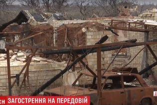 Журналисты ТСН побывали в Зайцево, которое боевики истребляют большими калибрами