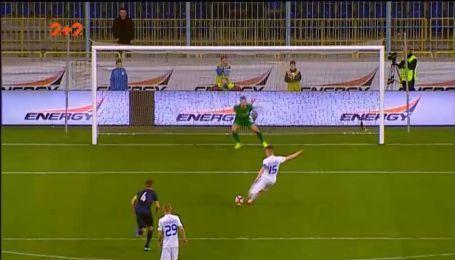 Дніпро-1 – Динамо - 0:1. Відео голу Циганкова